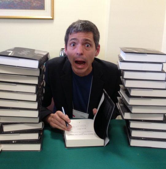 signing books WTL